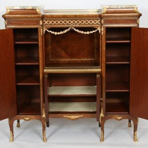Louis XV Style Music Cabinet signed F Linke