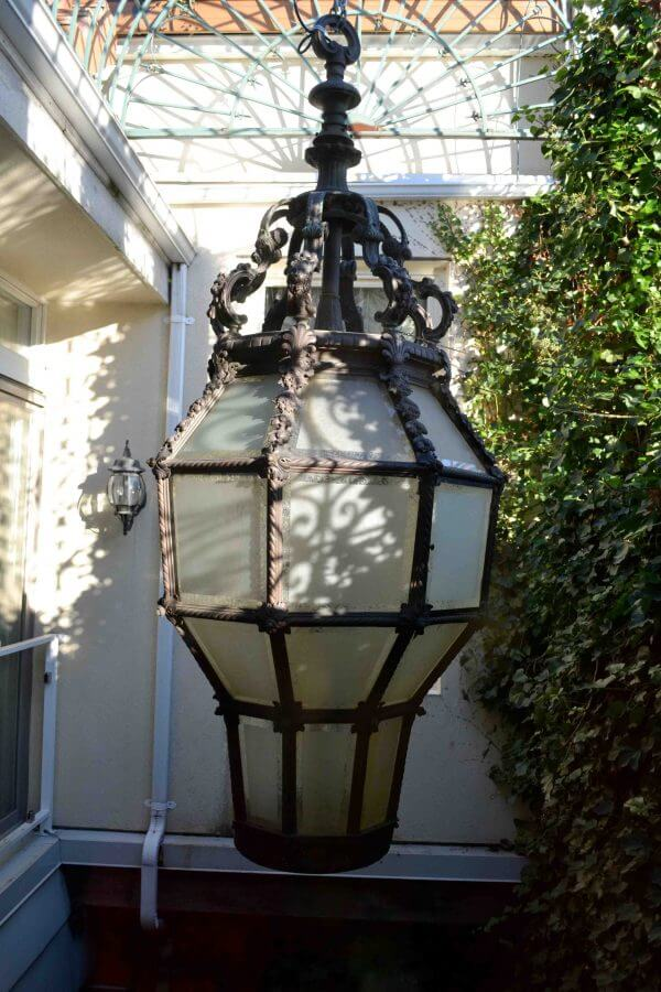 Bronze Port Cochere Lantern
