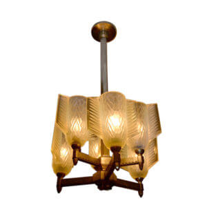 Sabino Art Deco Chandelier