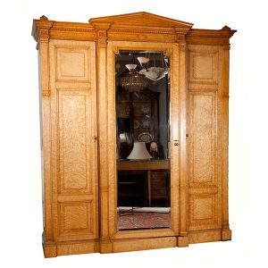 American Neoclassical Style Armoire