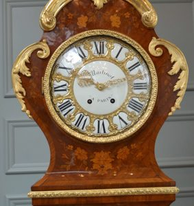 Louis XV Longcase Clock After Lieutaud
