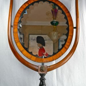 Biedermeier Table Mirror