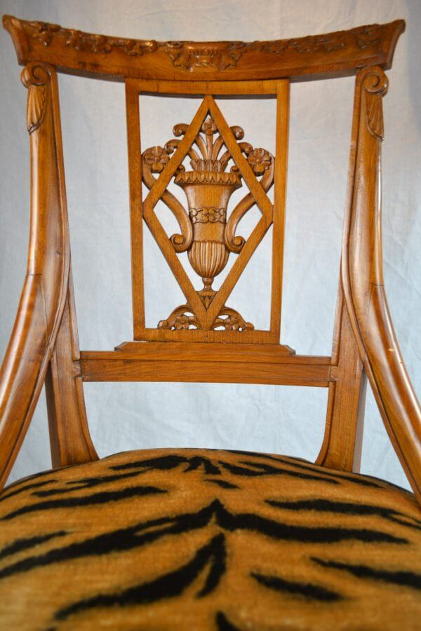Neoclassical Swedish Chair