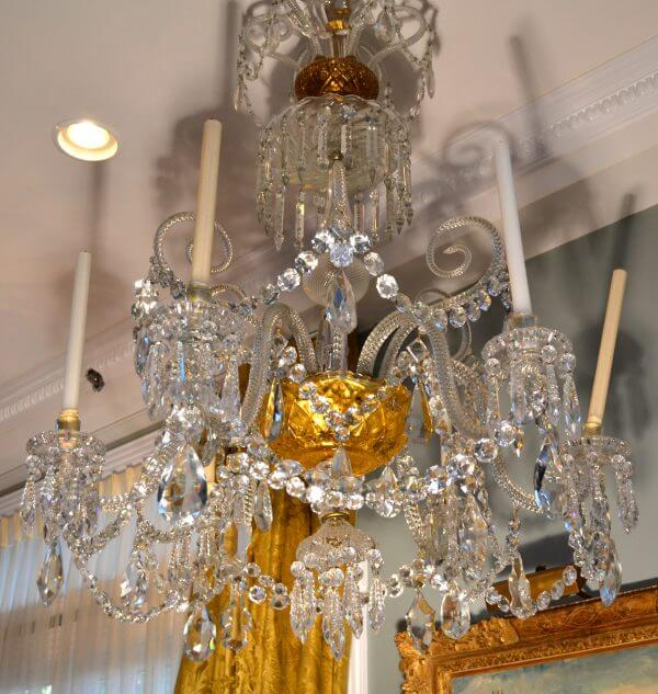 Cut Crystal Baccarat Chandelier
