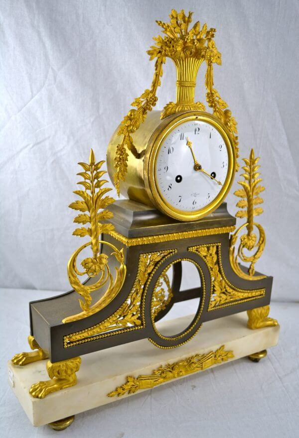 Directoire Clock by Deverberie