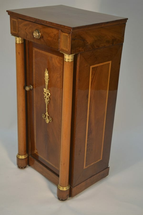 Period French Empire Bedside Table