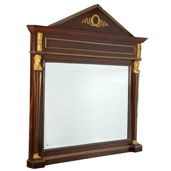 Empire Style Beveled Mirror