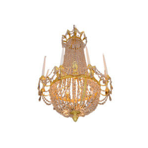 Period French Empire Chandelier