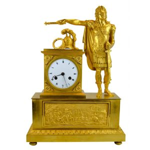 Louis XVI as Caesar Clock