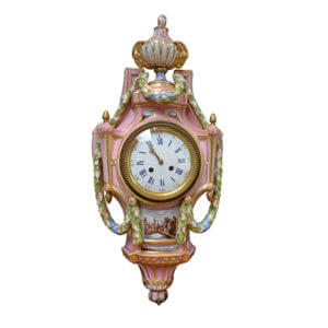 Meissen Porcelain Cartel Clock