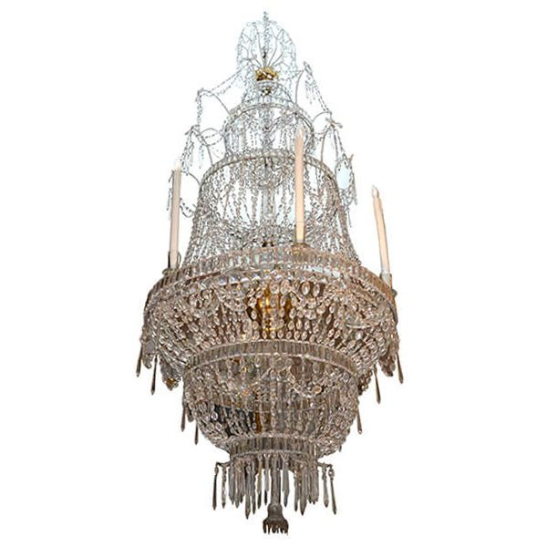 Spanish Crystal Chandelier