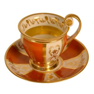 Paris Porcelain Tea Cup and Saucer