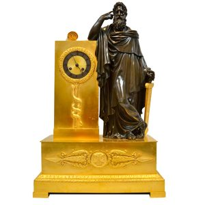 Saint Paul French Empire Clock