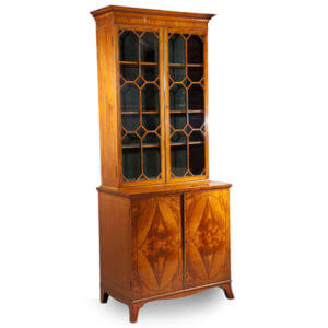 Sheraton Satinwood Book Case