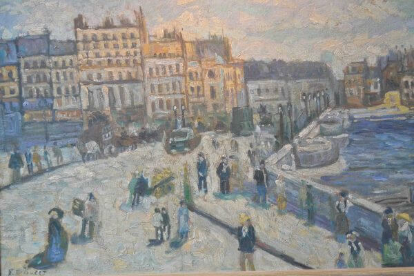 Pont Neuf in Paris after Monet