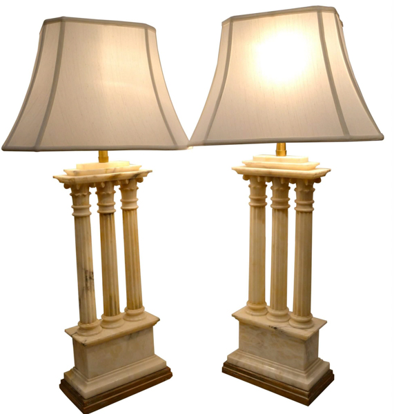 Temple Ruins as Lamps