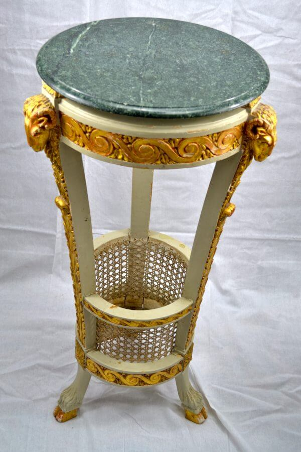 Louis XVI style Painted Table