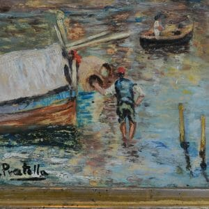 Attilio Pratella Fishing Off Naples