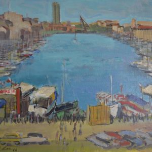 A City Port Marina Scene