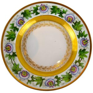 German KPM Early 19th Century Plate
