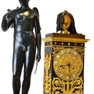 Cupid and Eurydice Clock