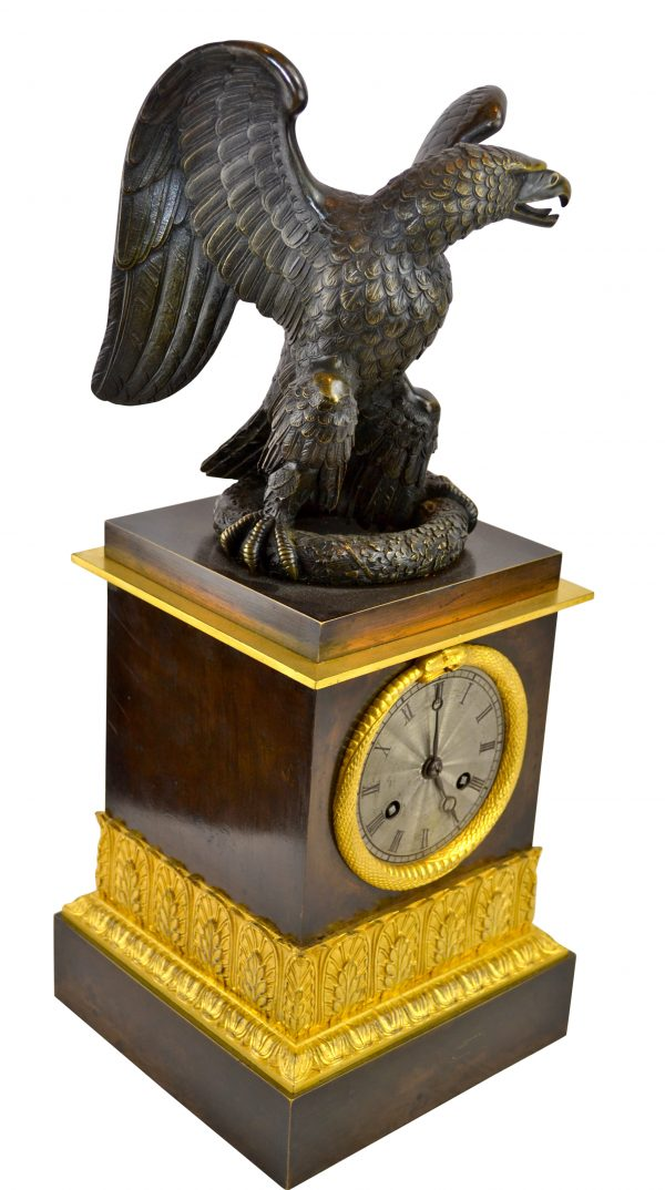 Empire Eagle Clock