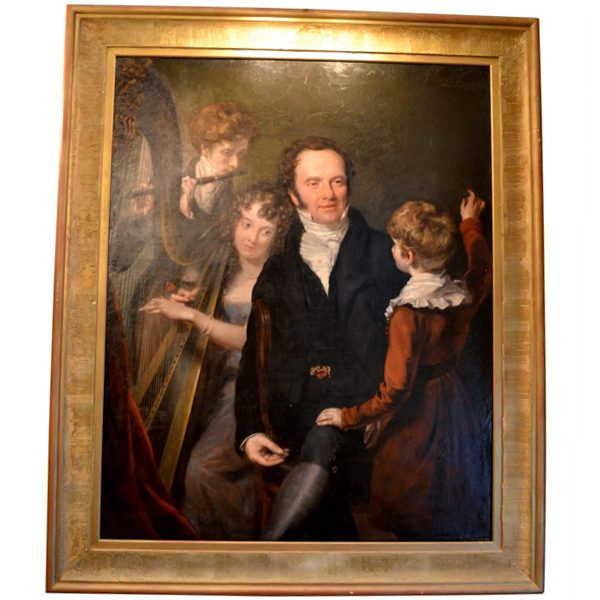 John Opie Portrait of a Gentleman with his Three Children