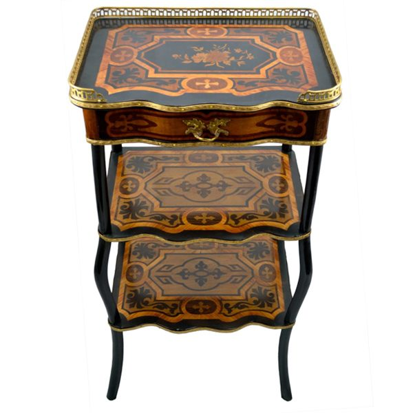 Napoleon III Marquetry Side Table