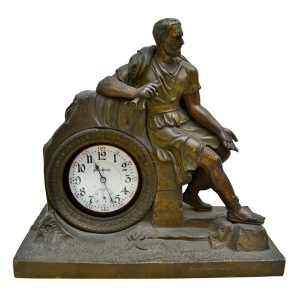 Neo-Classical Bronze Porte Montre